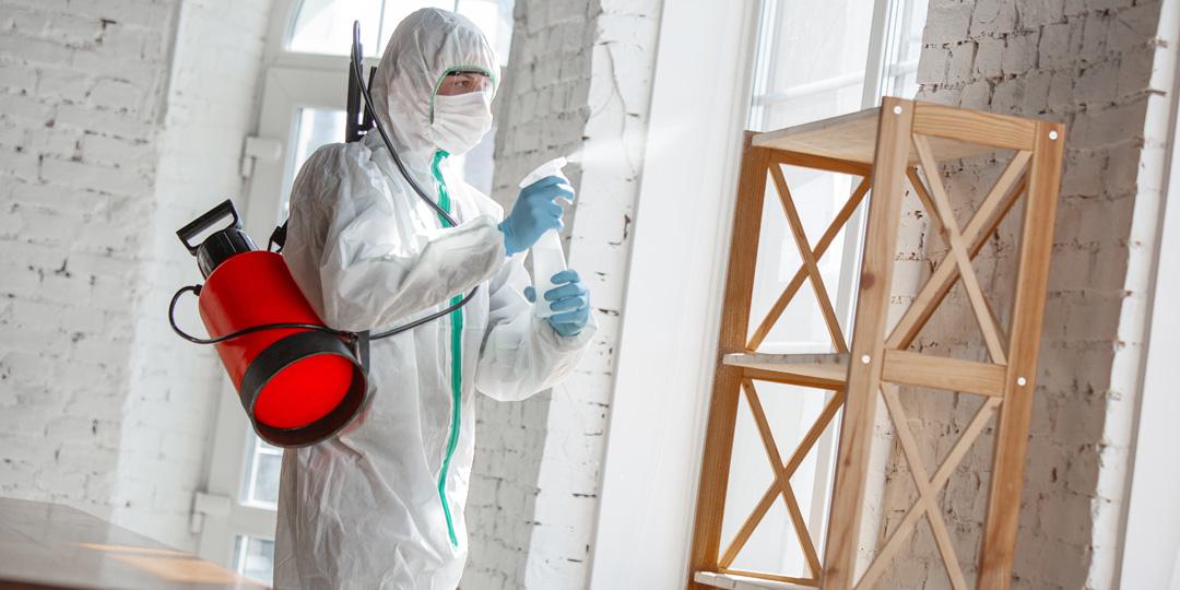 Desinfección de las localizaciones  para eventos para evitar contagios