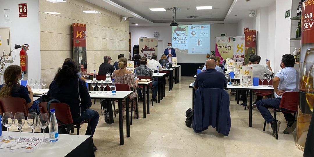 Mas de 120 profesionales de la hosteleria madrileña se han formado en Sabores de la provincia de Sevilla